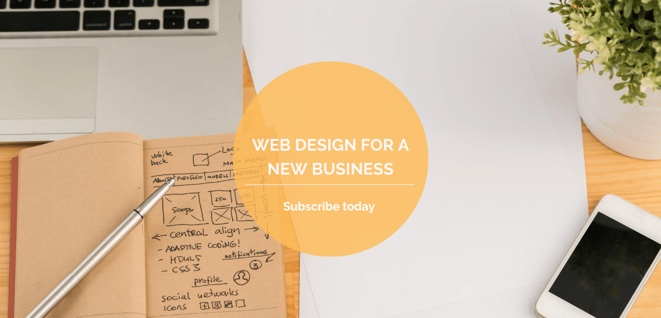 Web design for a new business